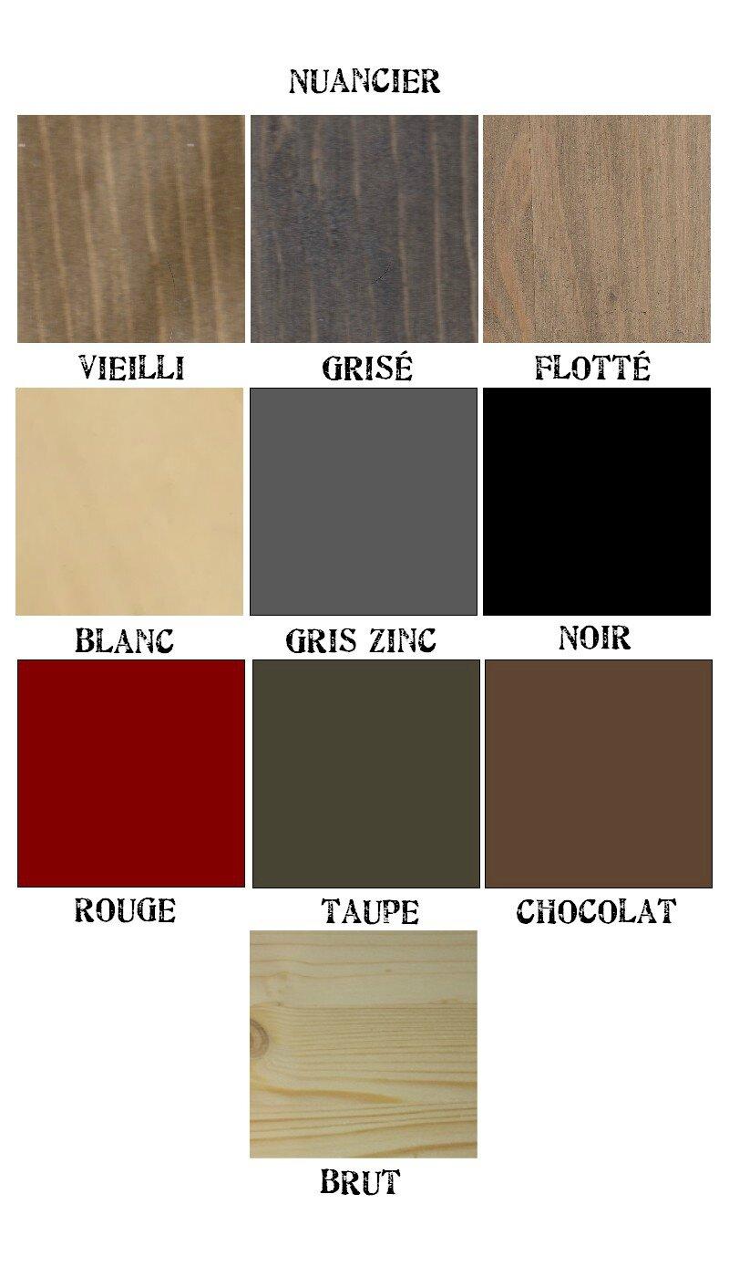 La maison r invent e boutik for Peinture couleur taupe et chocolat