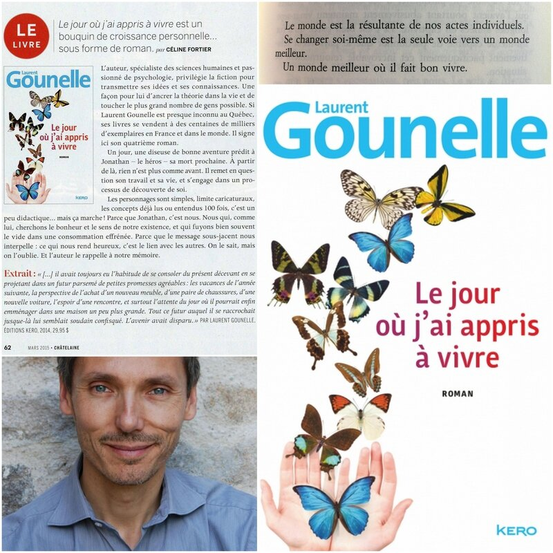 Laurent Gounelle - 2014 - Le jour où j'ai appris à vivre