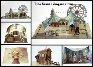 Tina Kraus Pop up circus