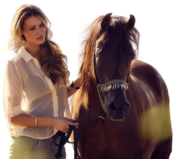 113-2013+woman+and+horse+by+Roby2765