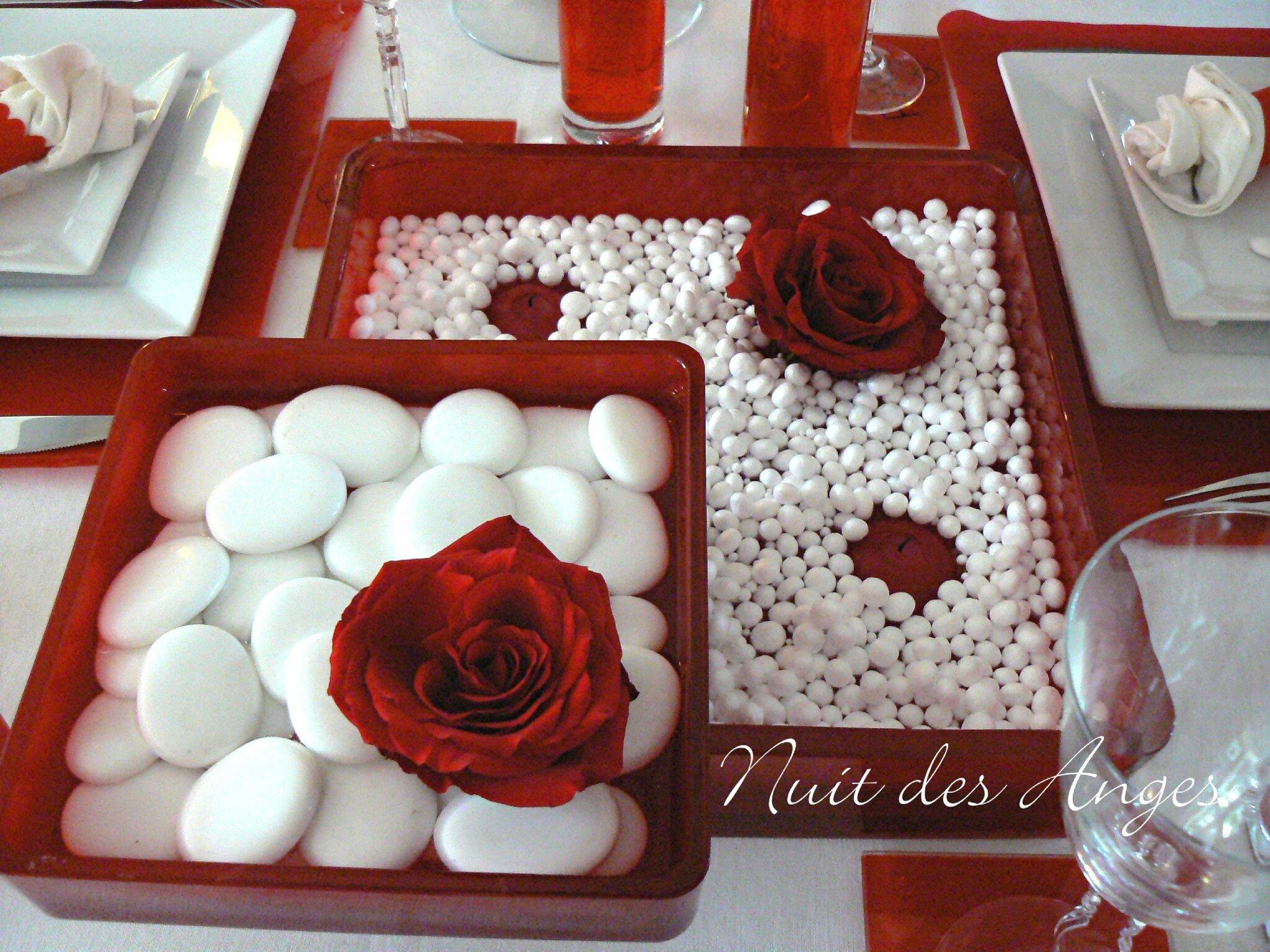 Idee deco cuisine rouge et blanc - Deco rouge et blanc ...