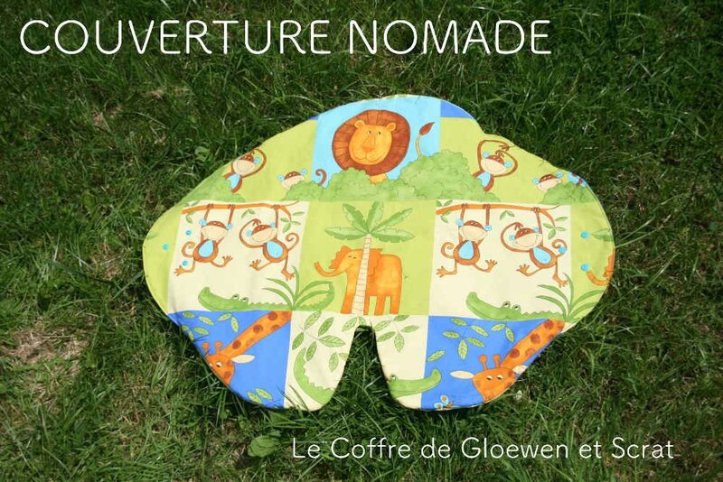 Couverture Nomade Jungle 1
