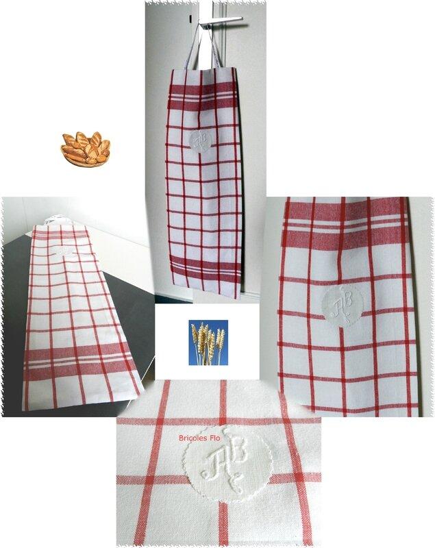Sac à pains monogramme 10