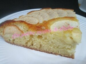 Gâteau moelleux pommes frangipane53
