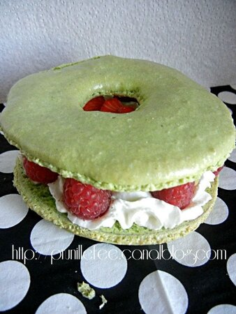macaron trou