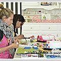 Photos des ateliers pâte à sucre nîmes - 18 avril 2015
