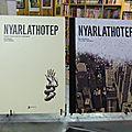 Tirages de tête et variant covers chez akileos : nyarlathotep, noir tango, the ape à découvrir.