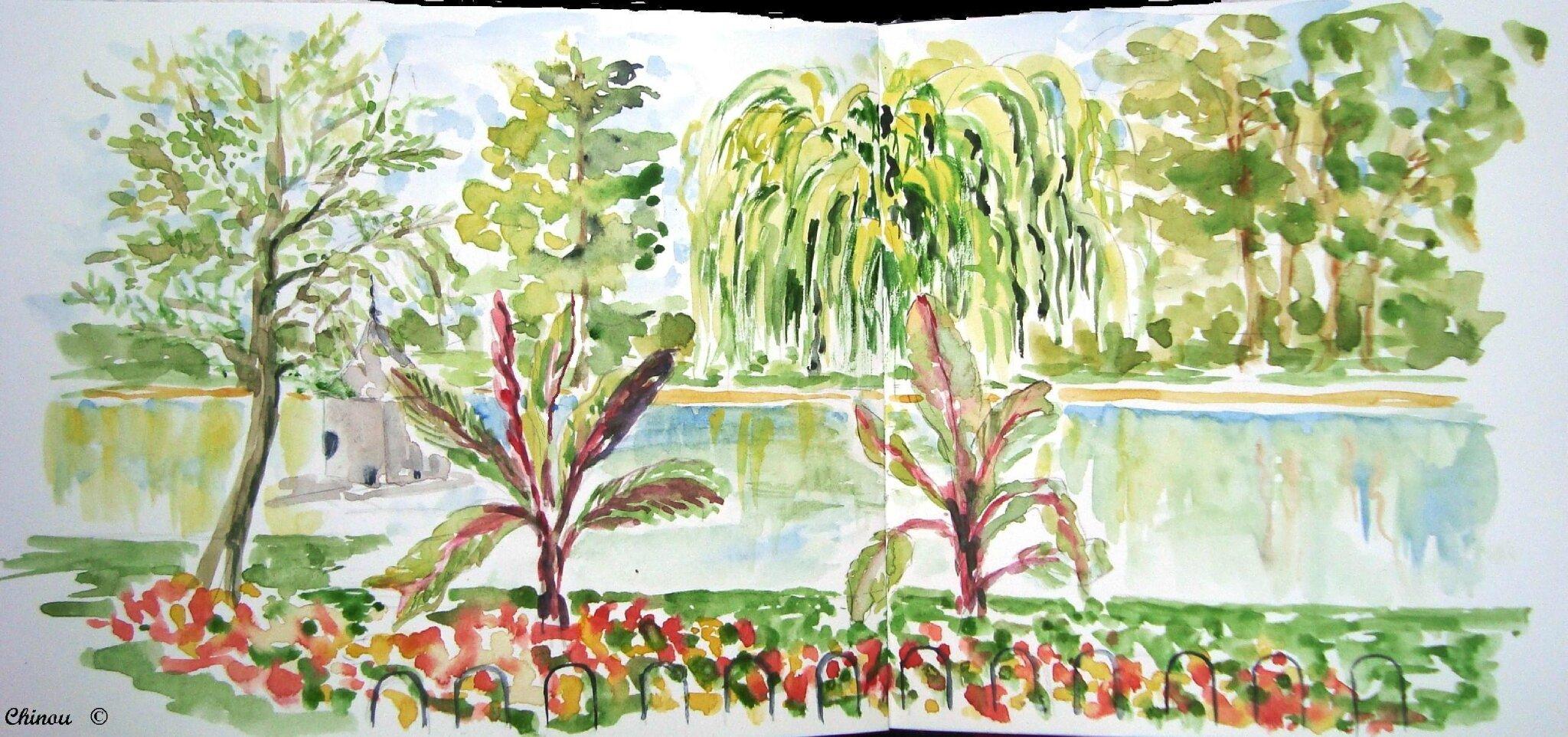 Toulouse carnets de voyage et peintures de chinou for O jardin gourmand toulouse
