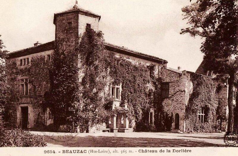château Dorlière-Neauzac mariage 1925 Jean Condamin
