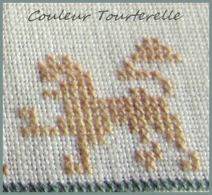 Mother's sampler 1799 Couleur Tourterelle 2-7
