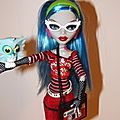 Monster high: Ghoulia Helps de près