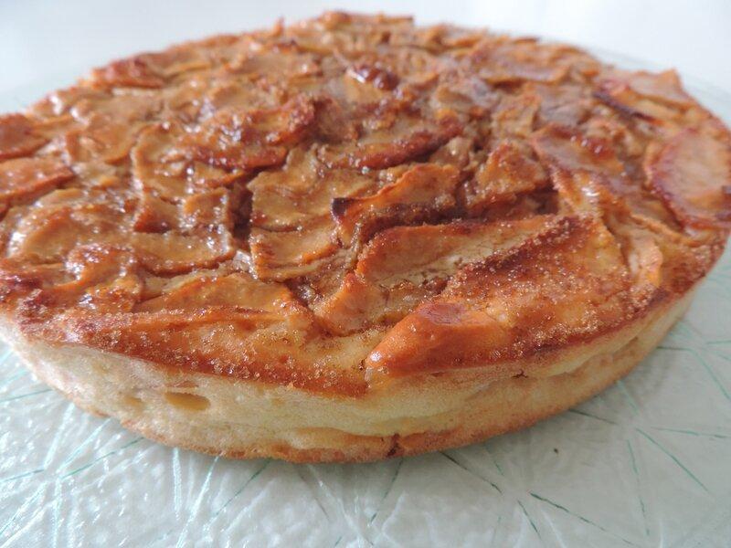 gâteau pommes ricotta (8)