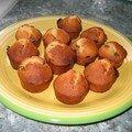 Mini-cakes aux raisins