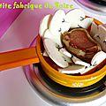 Champignons en feutrine (10 euros les 10)