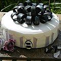 Gâteau boite à chapeau