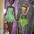 Barbie princessse: Tiana et la fée Clochette