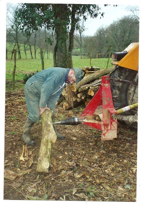 Billot De Bois Pour Fendre : Fendre le bois – LE JARDIN DE MEMERE HERISSON