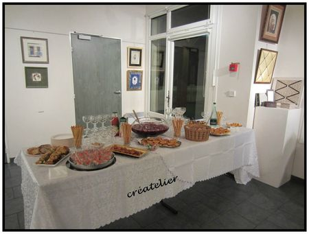 buffet vernissage décembre 2012
