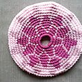 Frisbee dalhia graphique