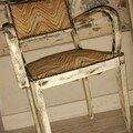 Chaise chinée chez ma soeur