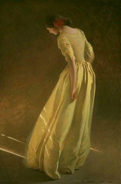 John White Alexander Sunlight 1909