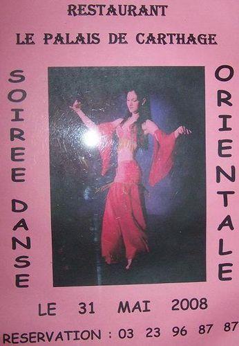 R/ Affiche pour une soirée danse orientale