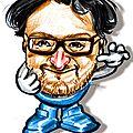 Caricature du directeur général des restaurants la pataterie