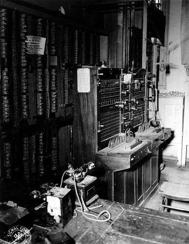 Central téléphonique Allemande du 19 juin 1944