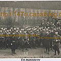 Dernières manoeuvres avant août 1914...