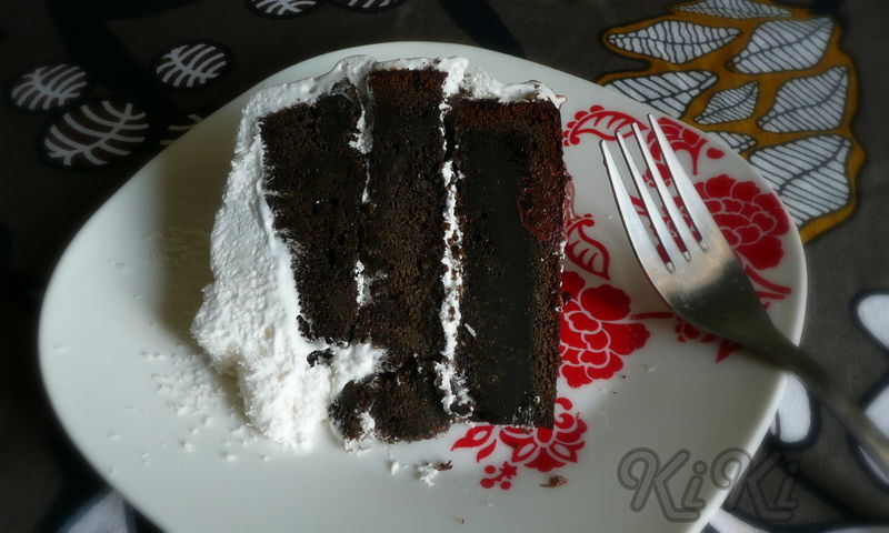 Devil's Food Cake With Seven-Minute Icing And Coconut ...