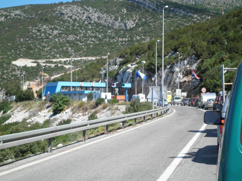 frontiere CR - Bosnie