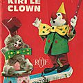 Le petit zoo de kiri le clown