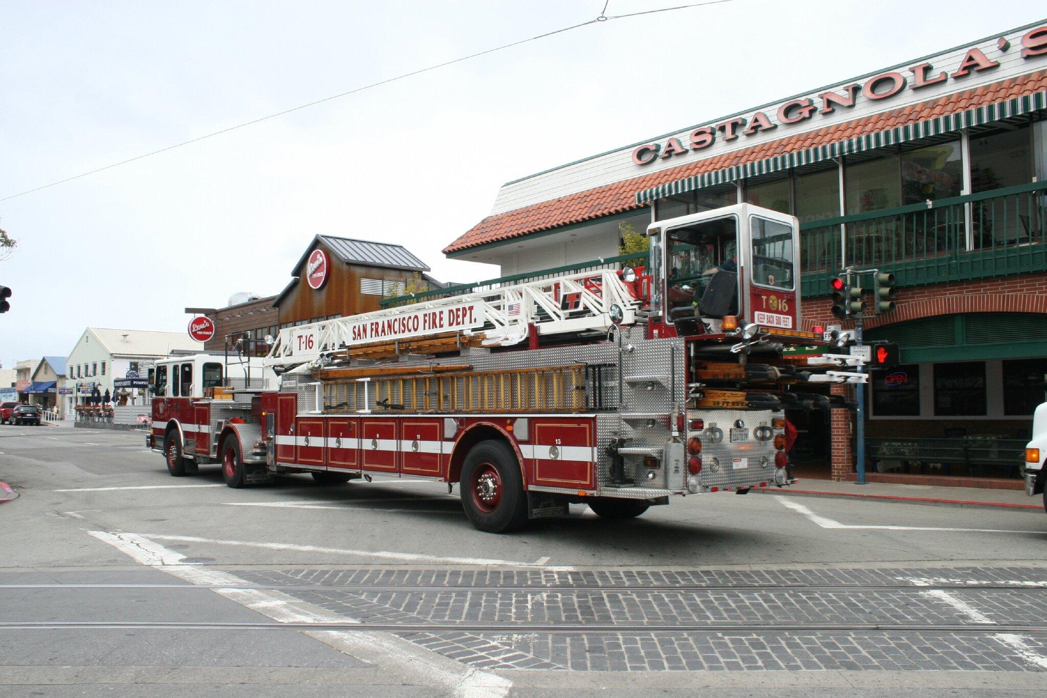 Pompiers de San Franciso