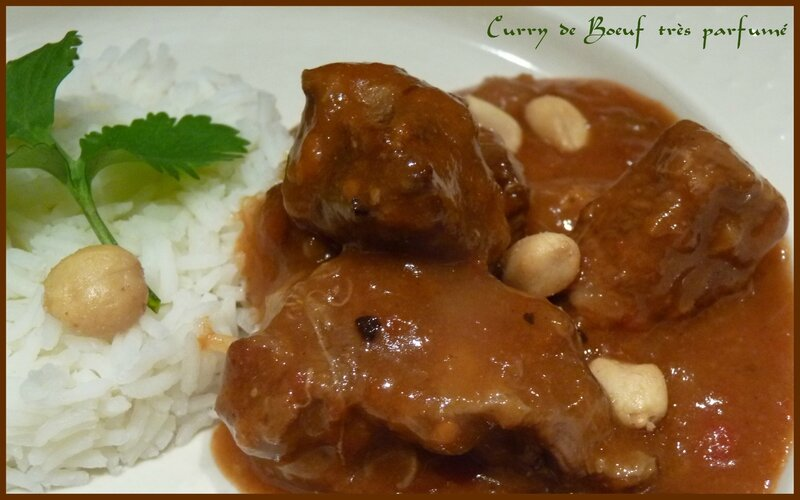 Curry de boeuf très parfumé2