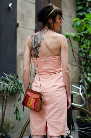 robe pêche-abricot 5