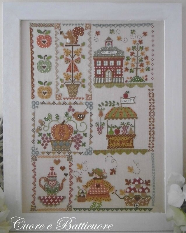 autumn in quilt