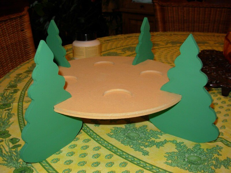 Decoration de noel en bois a faire soi meme - Decor de table de noel a faire soi meme ...