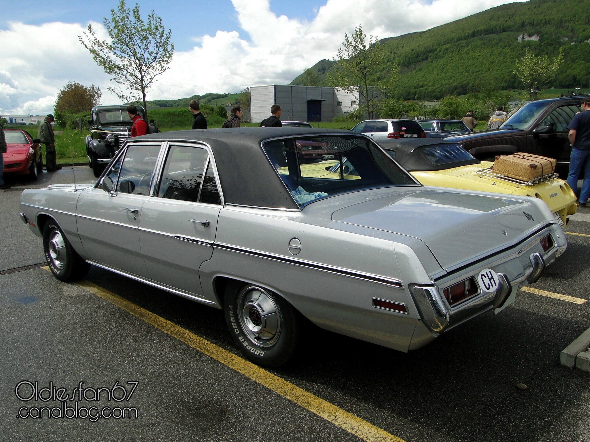 1971 dodge dart custom - photo #36