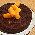 Ultra fondant au chocolat et... butternut healthy