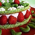 Des fraises en octobre ?