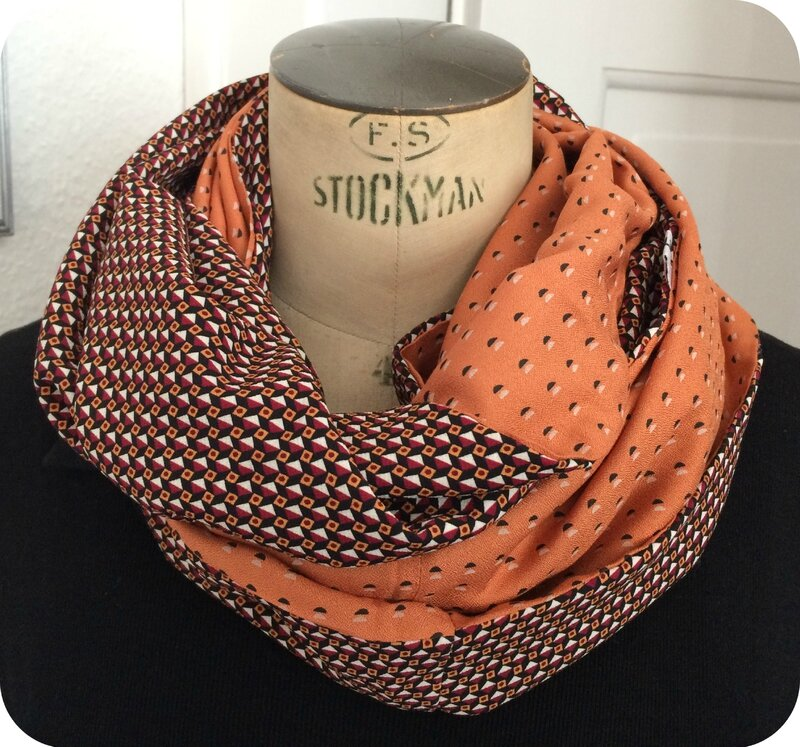 Snood été vintage graphic 7