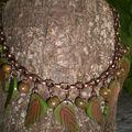 collier0671 35 euros polymère et métal cuivré VENDU