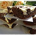 Cheesy brownie