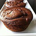 Moelleux au chocolat sans sucre et sans gluten pour notre première utilisation de la stévia