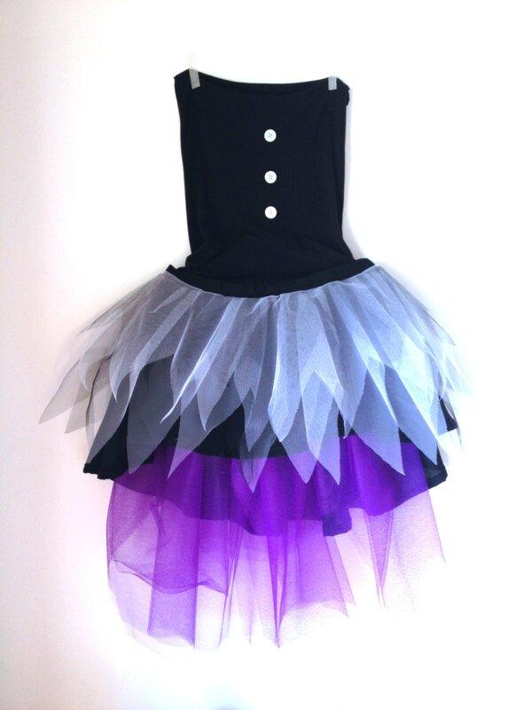 robe bustier de sorcière