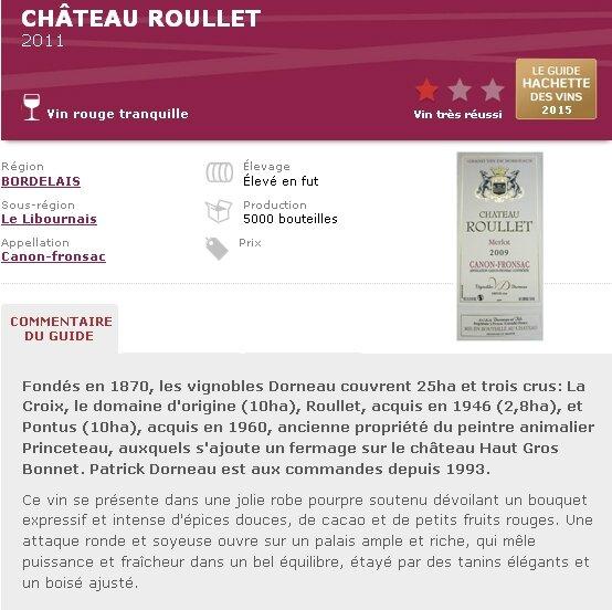 Hachette 2015 ROULLET