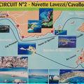 Excursion aux Îles Lavezzi au sud de la Corse