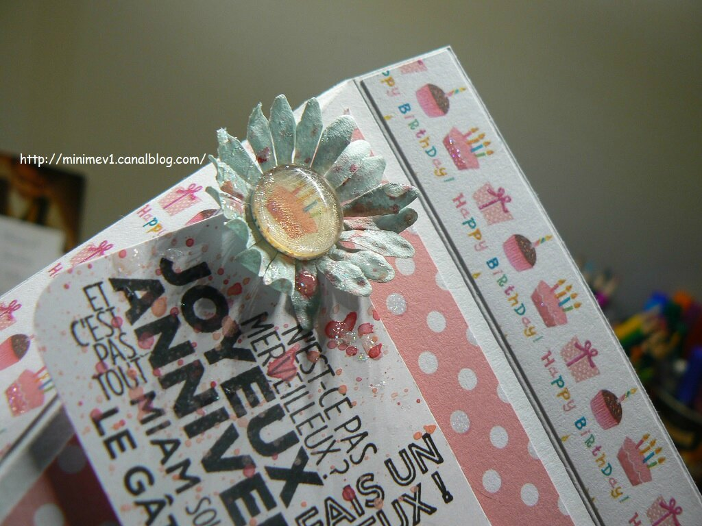 Pochette triangle Stampin'up + TUTO