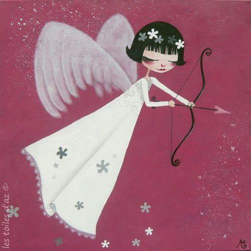 La flèche de Cupidon 50x50