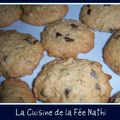 Cookies parfum caramel aux ppites de chocolat